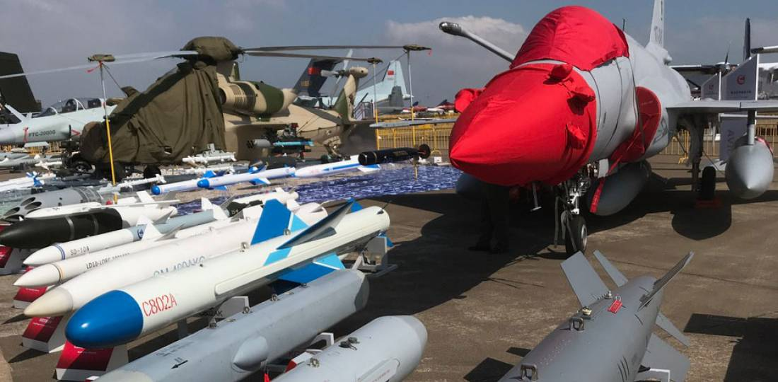 JF-17 weapons