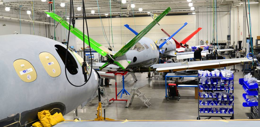 Cirrus is taking a 'go-slow' approach to ramping up production of its Vision Jet.