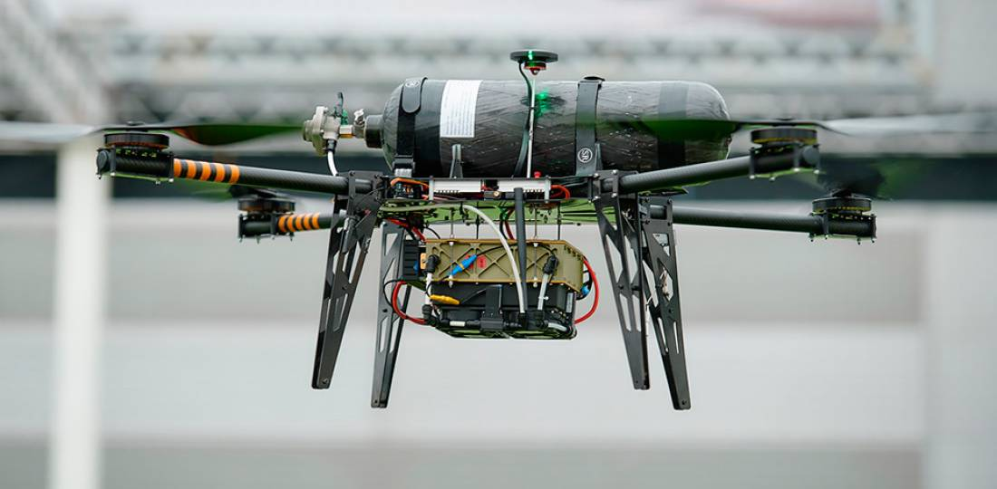 HyPoint small drone fuel cells