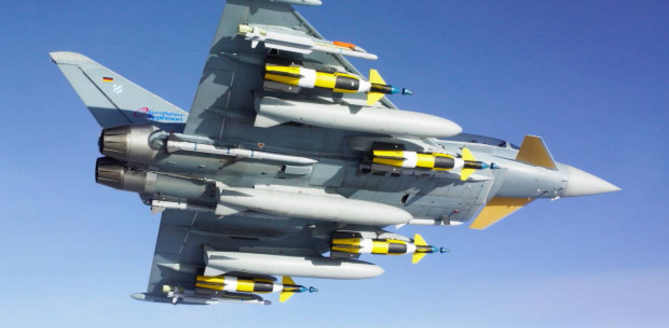Typhoon with weapons
