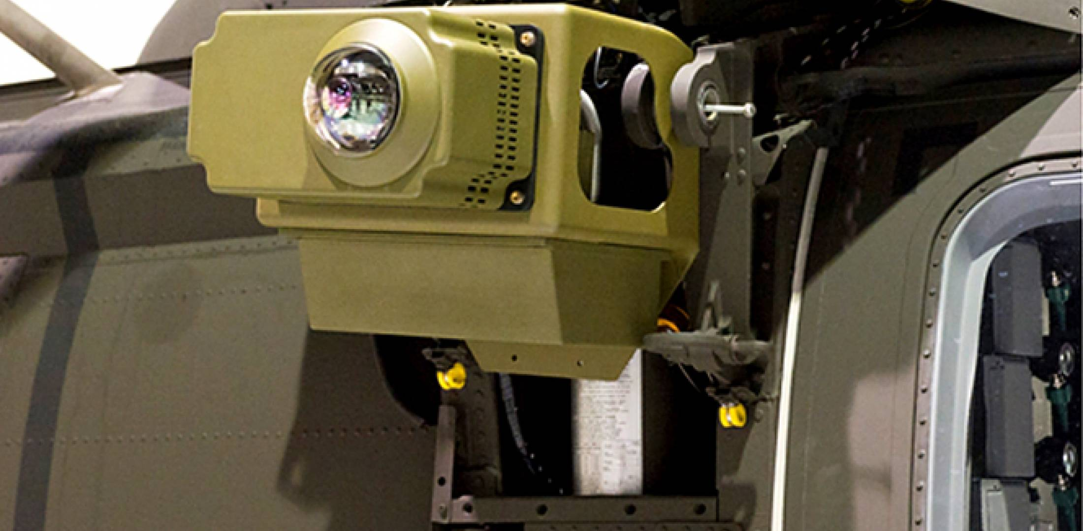 Raytheon system developed for the U.S. Army's Common Infrared Countermeasures...