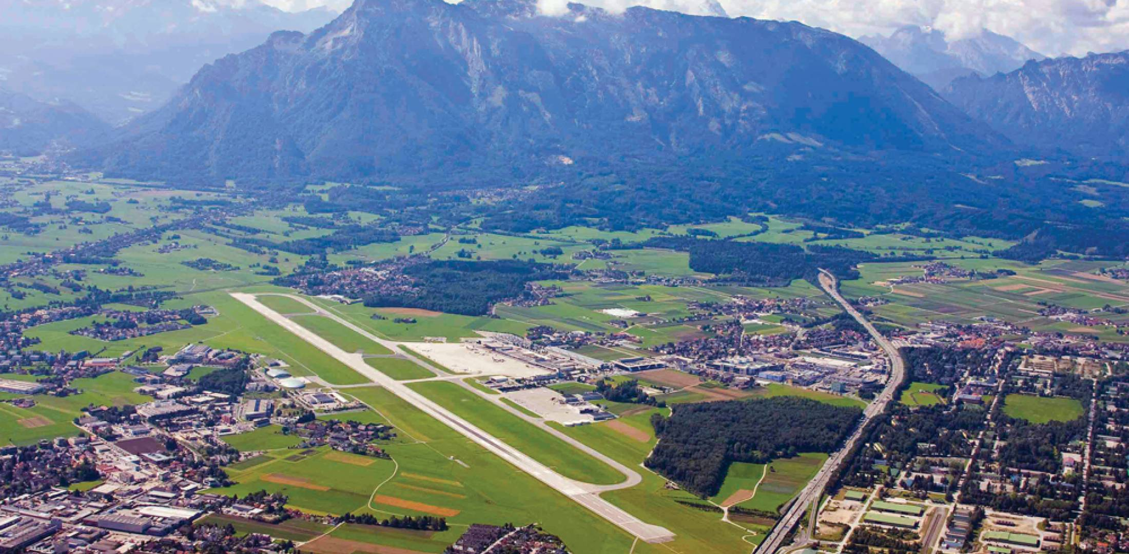 Austria's Salzburg regional airport has seen the number of movements decline as airlines use larger aircraft with lower seat-mile costs.