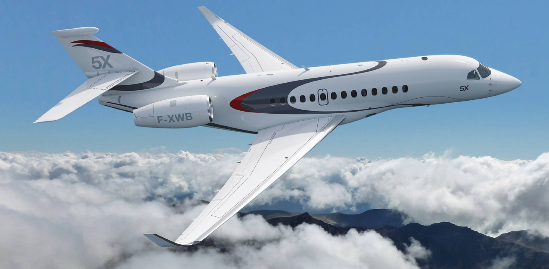 The jet will have a range of up to 5,200 nm (with eight passengers, three crew, NBAA IFR reserves at ISA and full fuel).