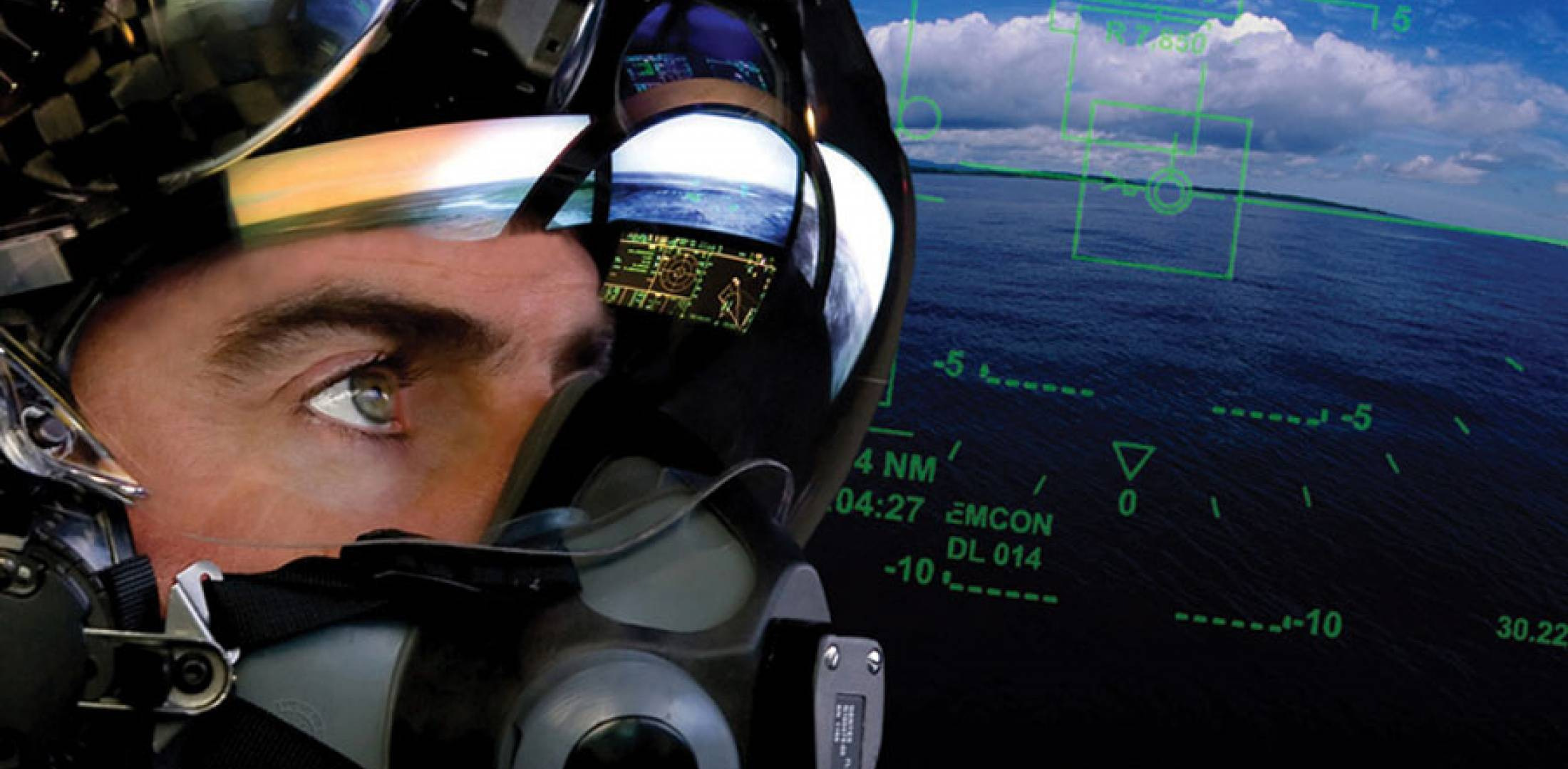 A new sensor in the 'Gen 3' helmet display will improve night vision acuity, a major defect of the 'Gen 2.'