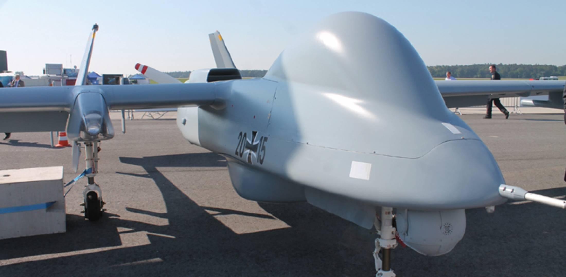 Israeli-built Heron 1 UAVs have been operated for the German air force over Afghanistan via a lease-operate-maintain contract.