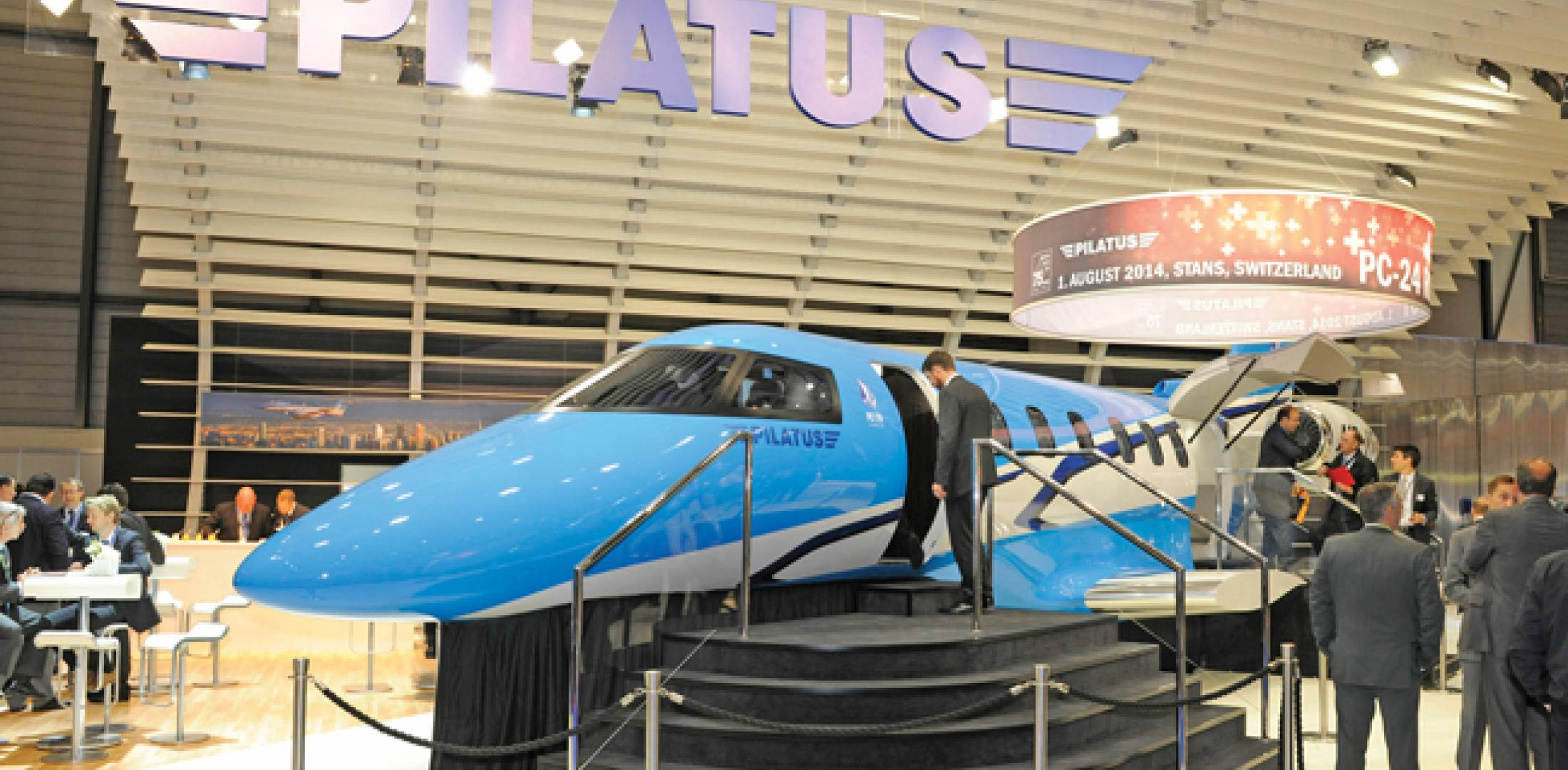 Pilatus has already sold two full years of production for its new PC-24 jet, which is due  to enter service in early 2017.