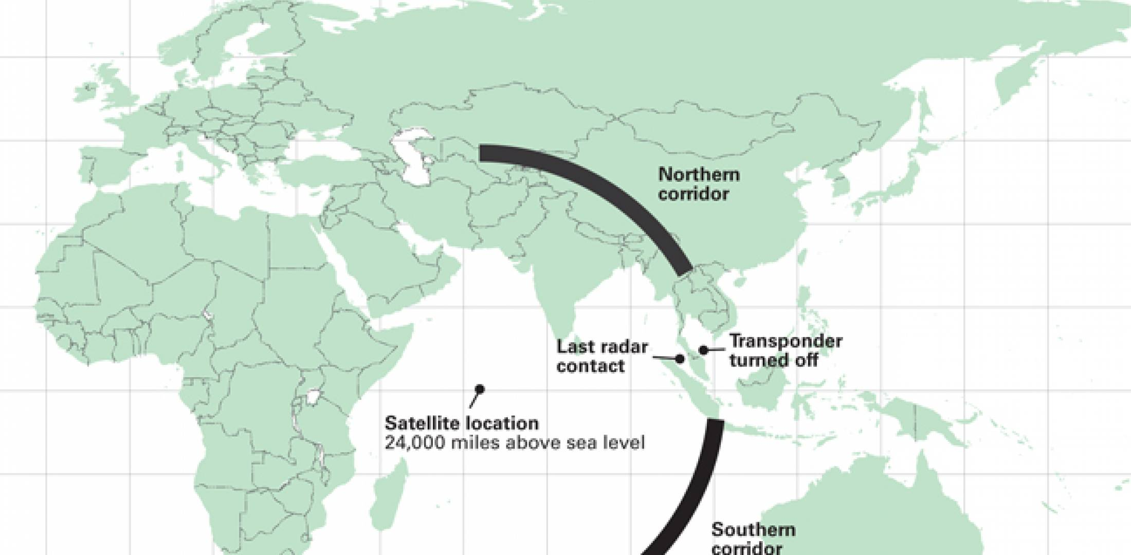 Data from satellite network operator Inmarsat provided the basis for the Malaysian government's determination that Flight 370 crashed into the southern Indian Ocean.