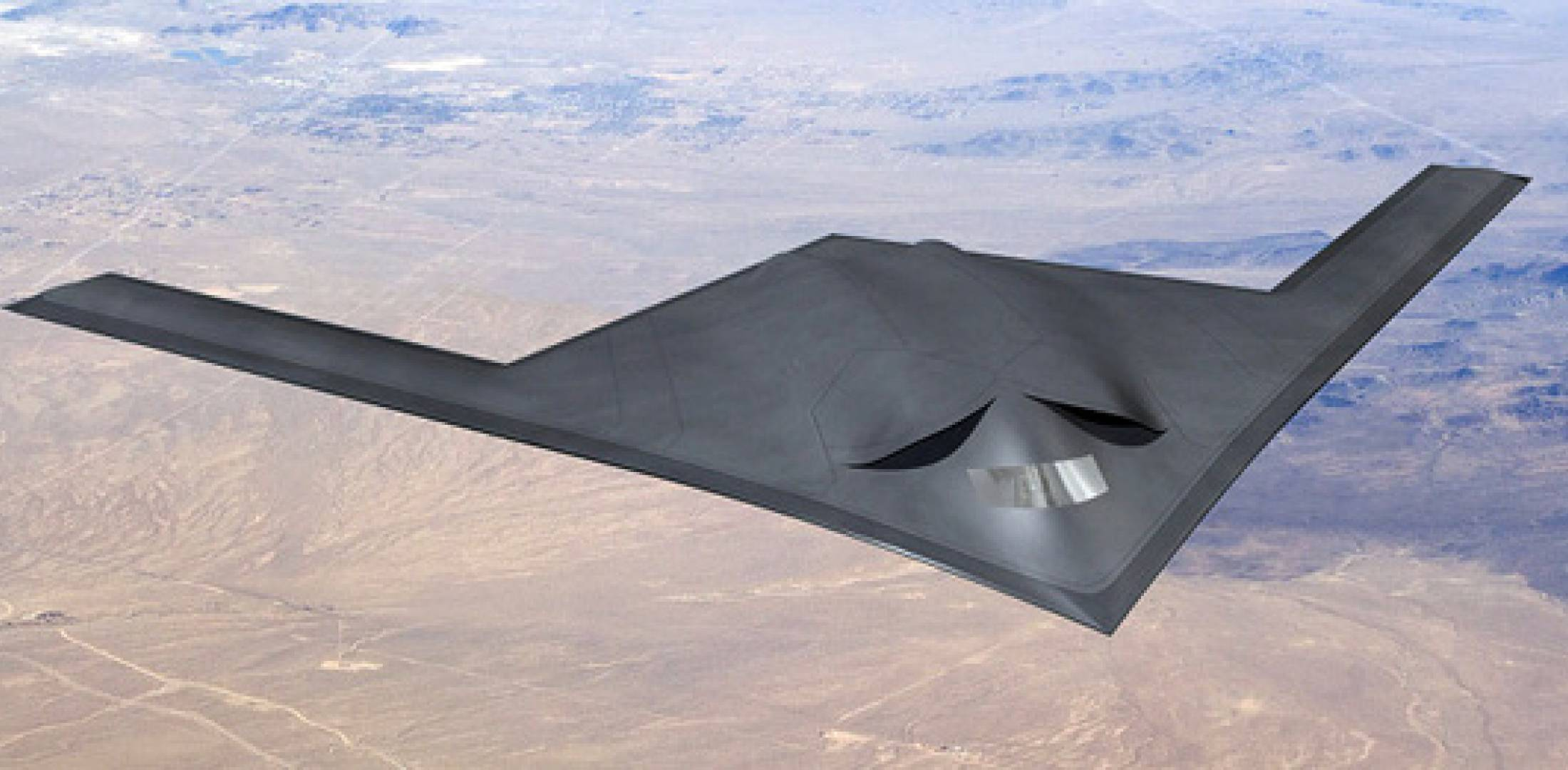 Next Generation Bomber concept drawing
