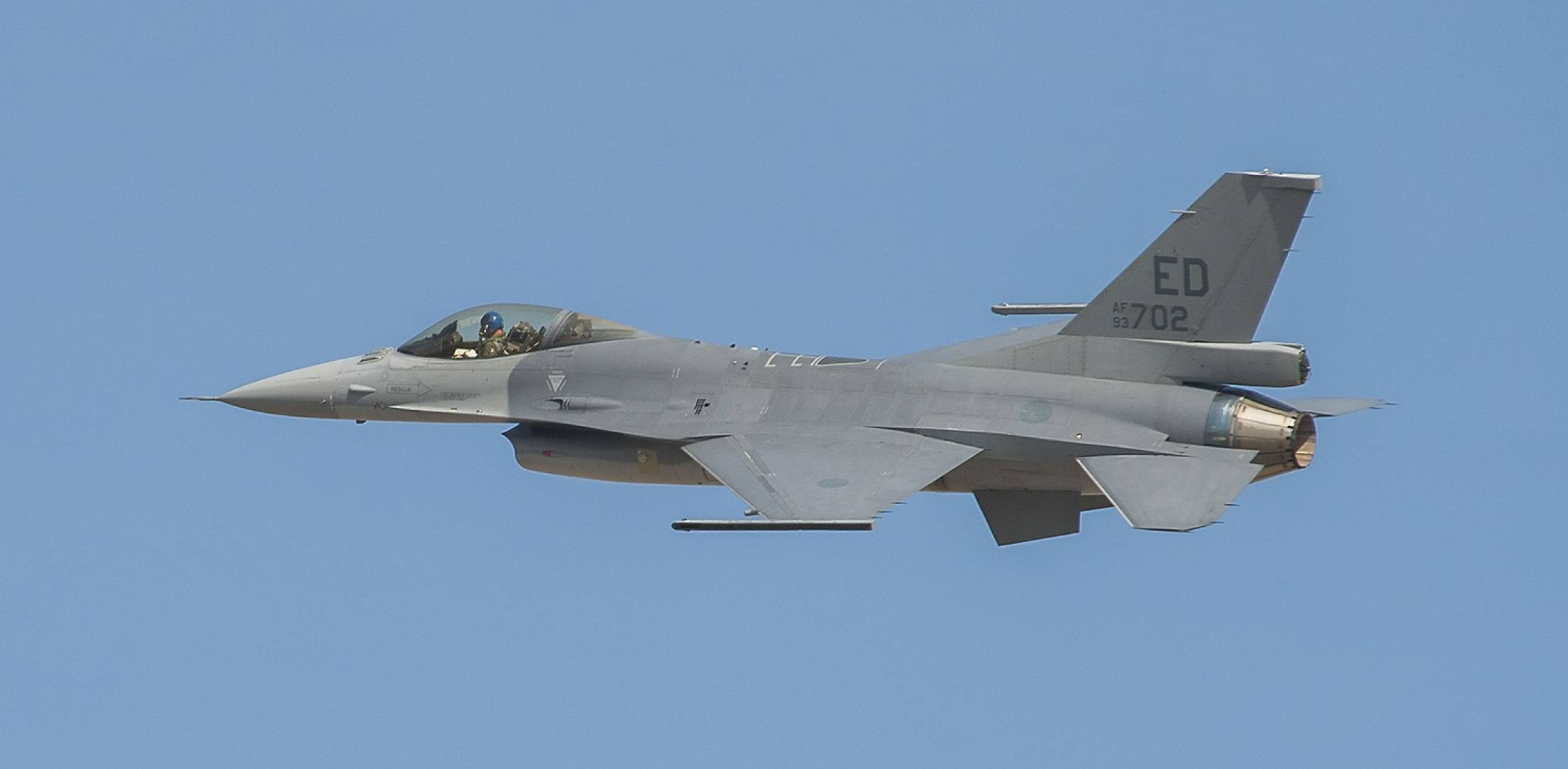 F-16V first flight