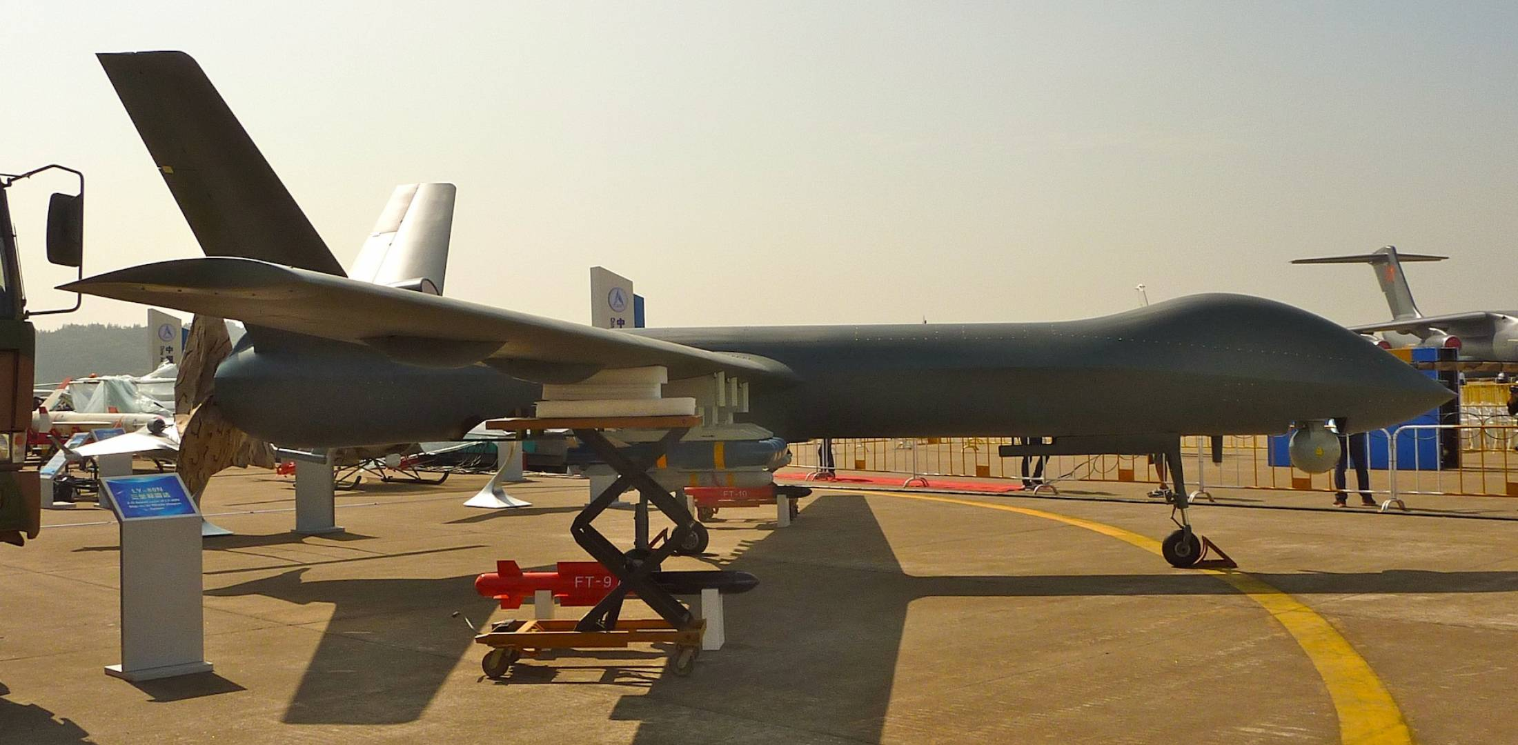 Chinese CH-5 unmanned aircraft
