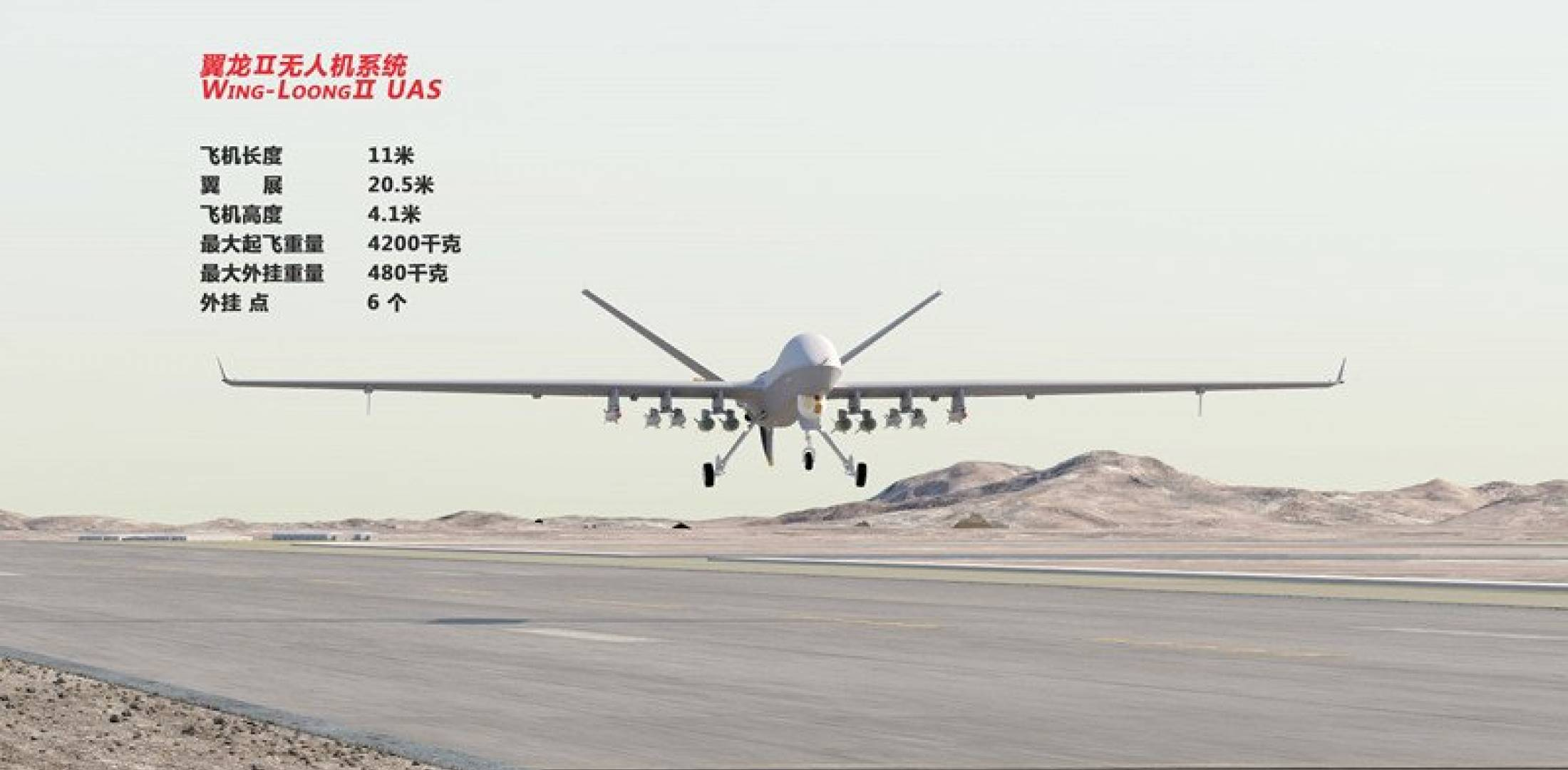 Wing-Loong II unmanned aircraft