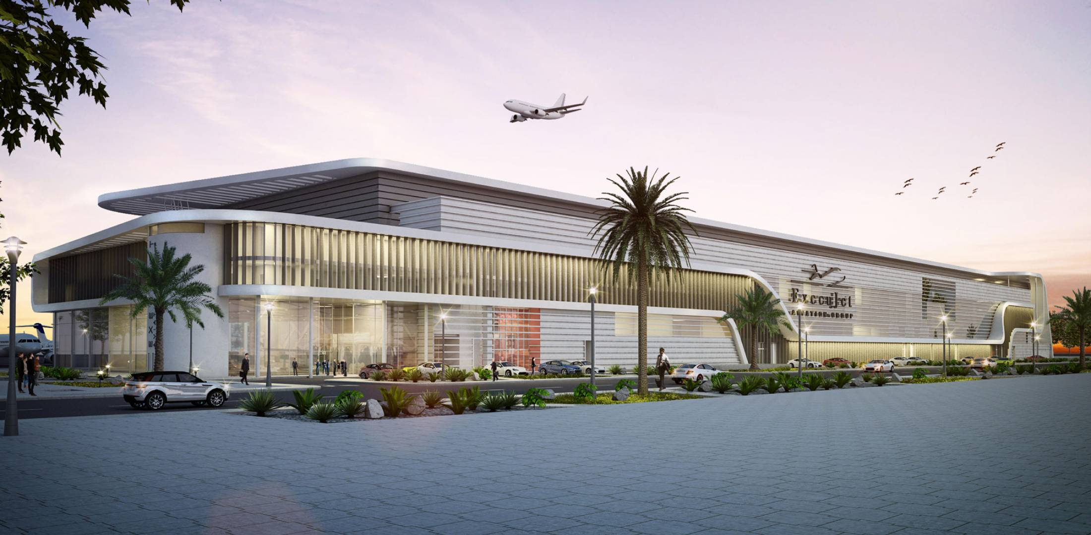 ExecuJet's planned consolidated FBO/MRO at DWC