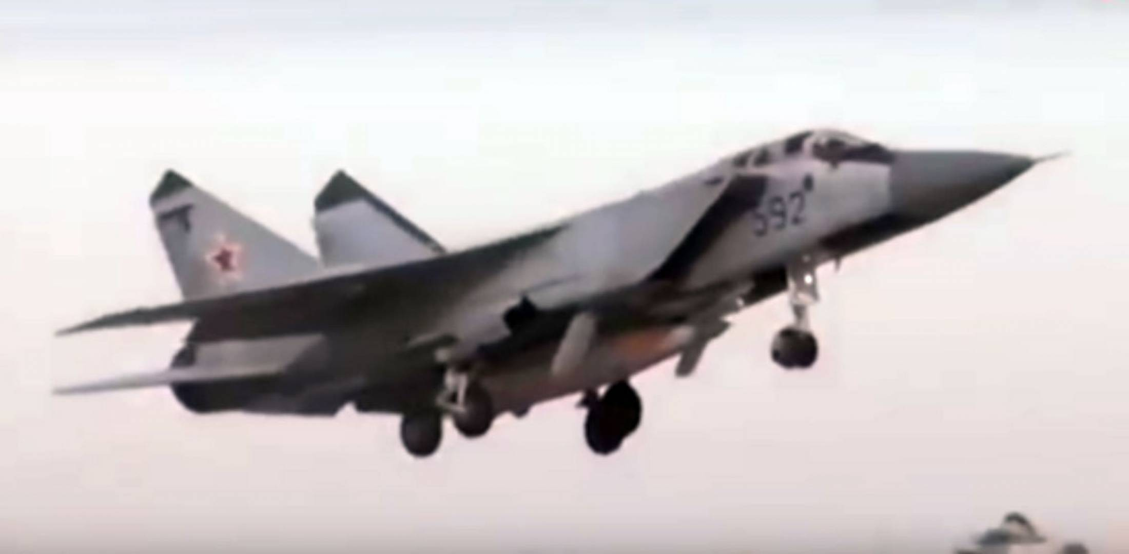 MiG-31in flight