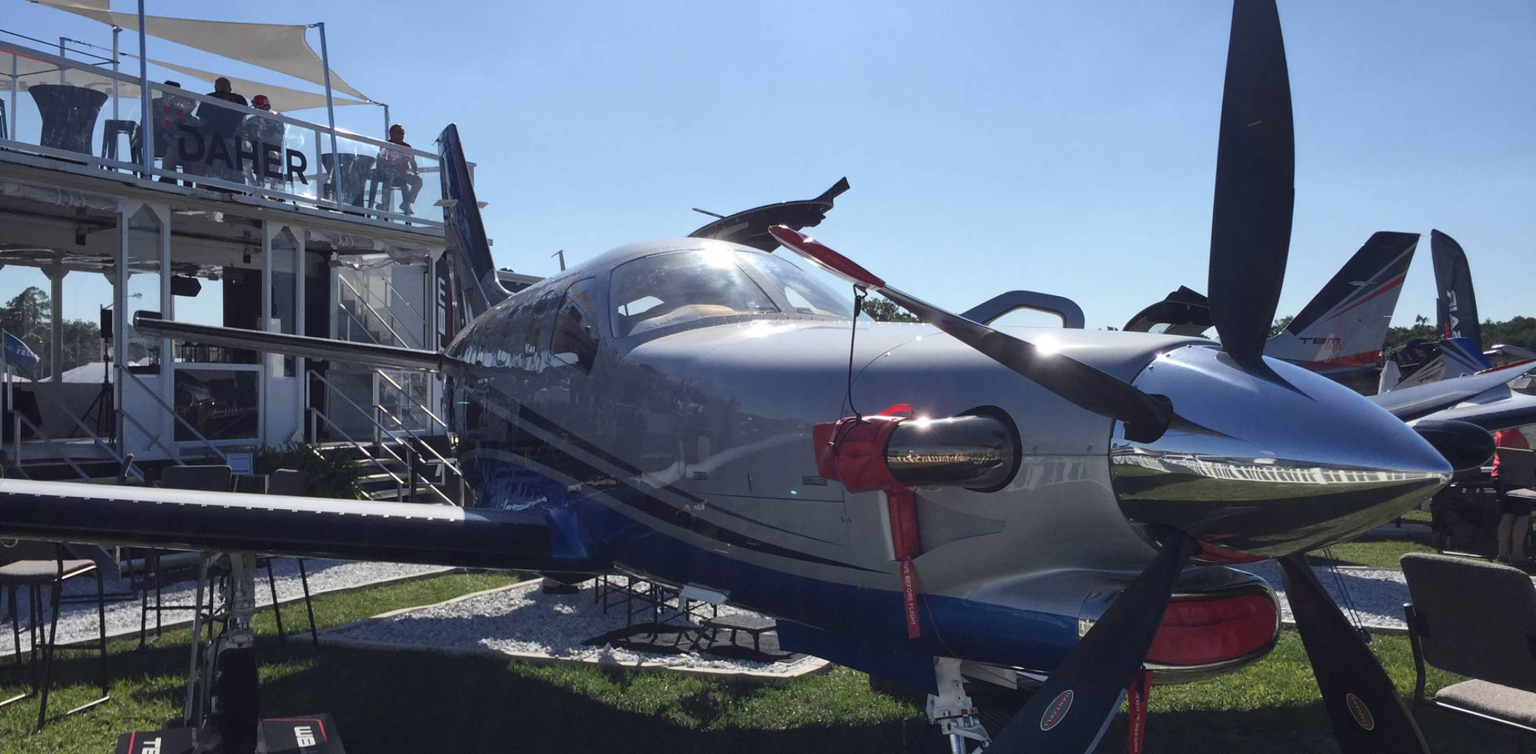 TBM 930 on display