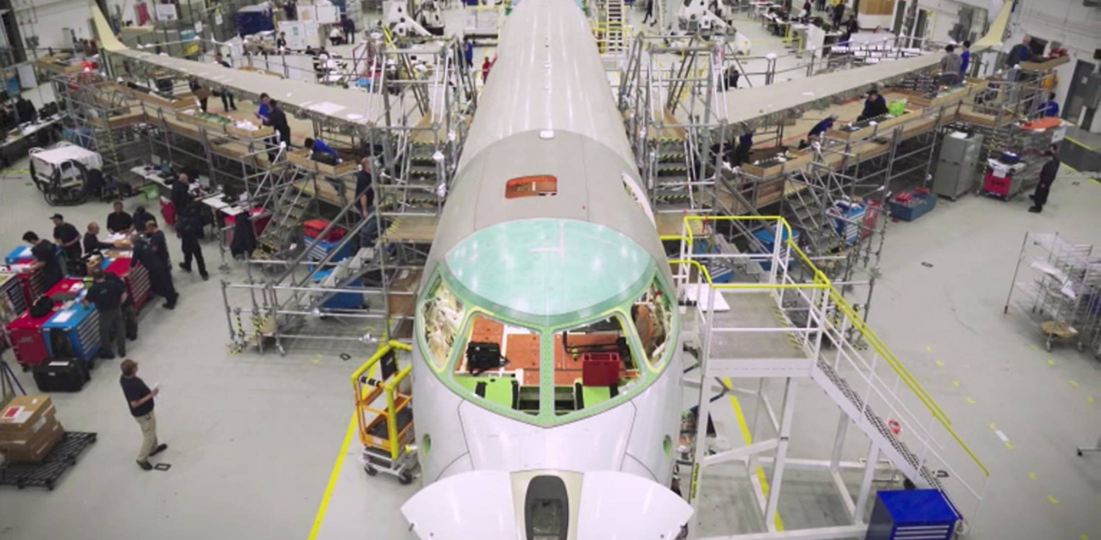 Global 7000 production