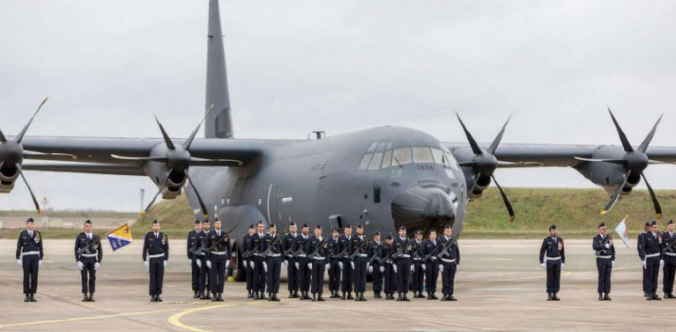 C-130J delivery ceremony