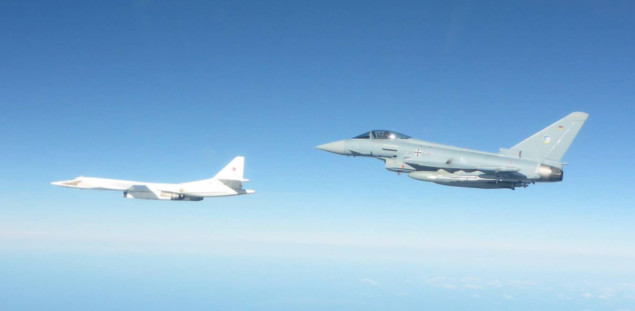 Tu-160 and Typhoon