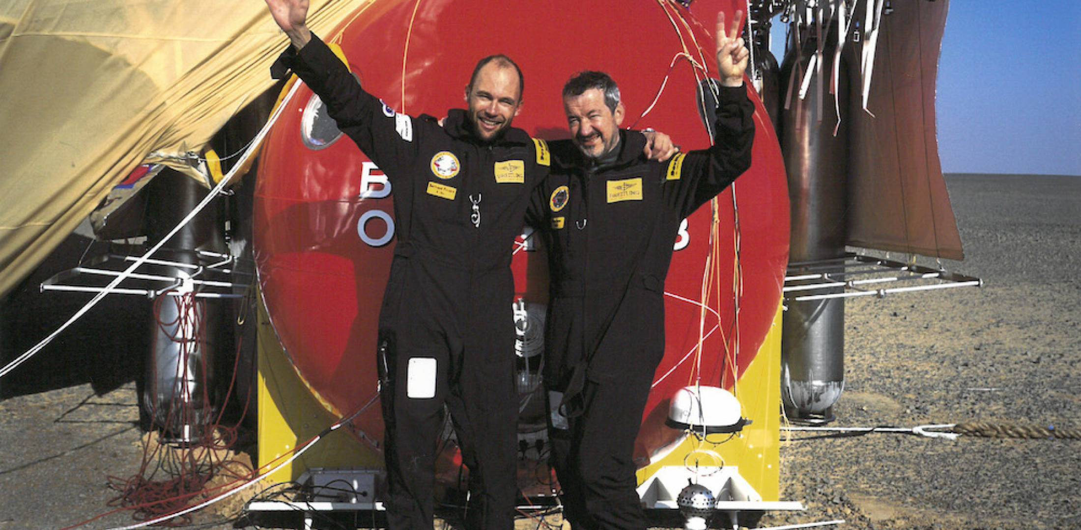 On March 21 it was 20 years since Breitling Orbiter 3 landed.