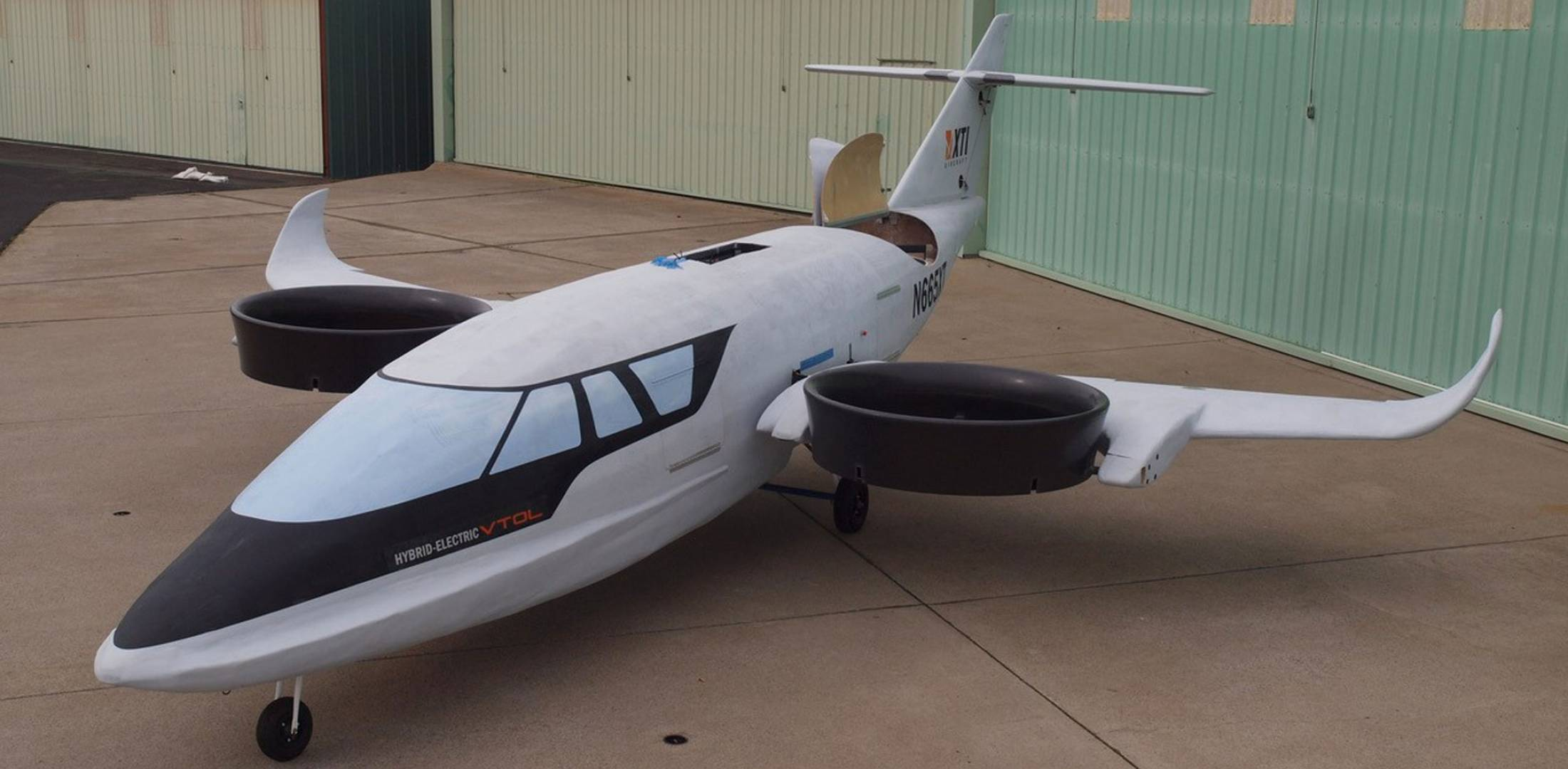 XTI TriFan 600 Proof-of-concept