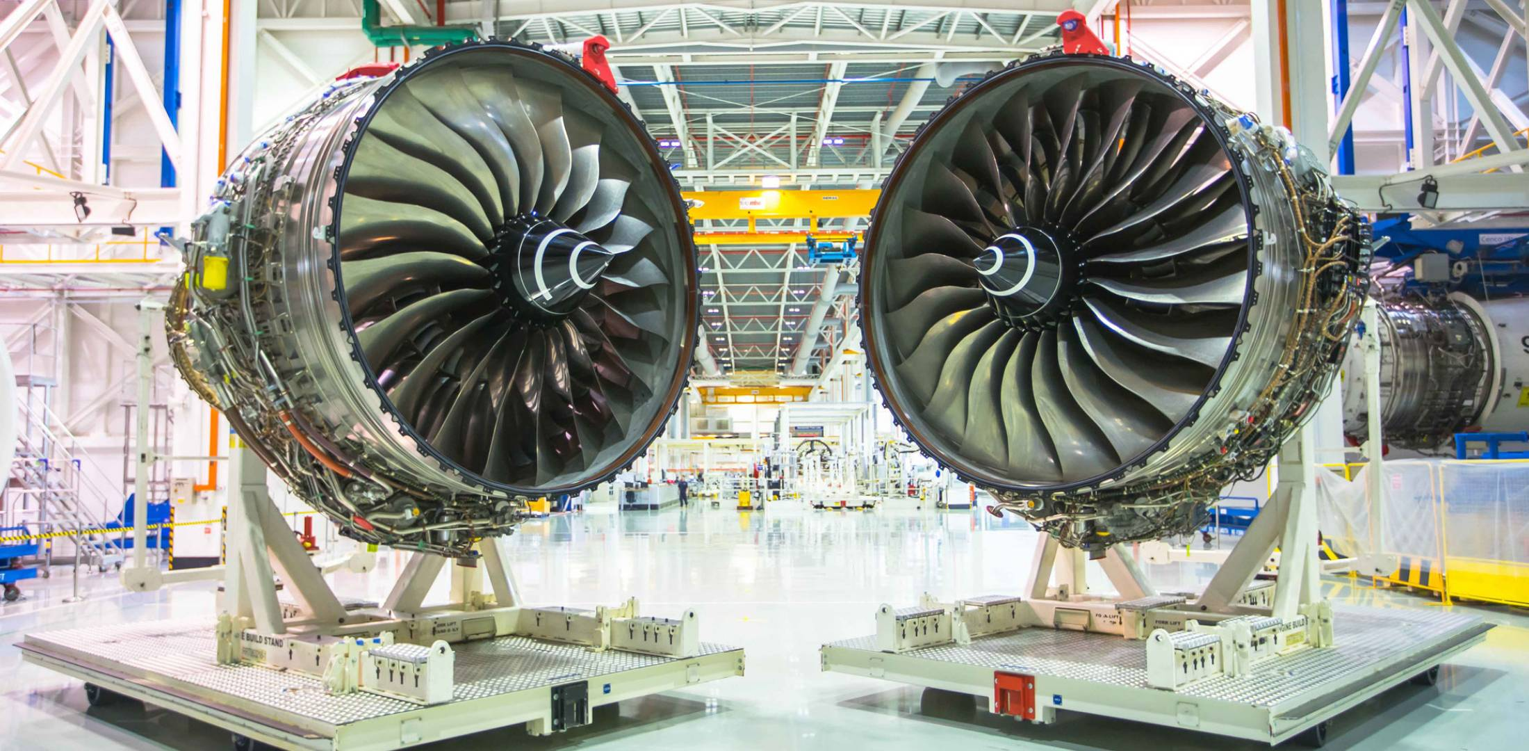 The Rolls-Royce test-and-assembly facility in Singapore