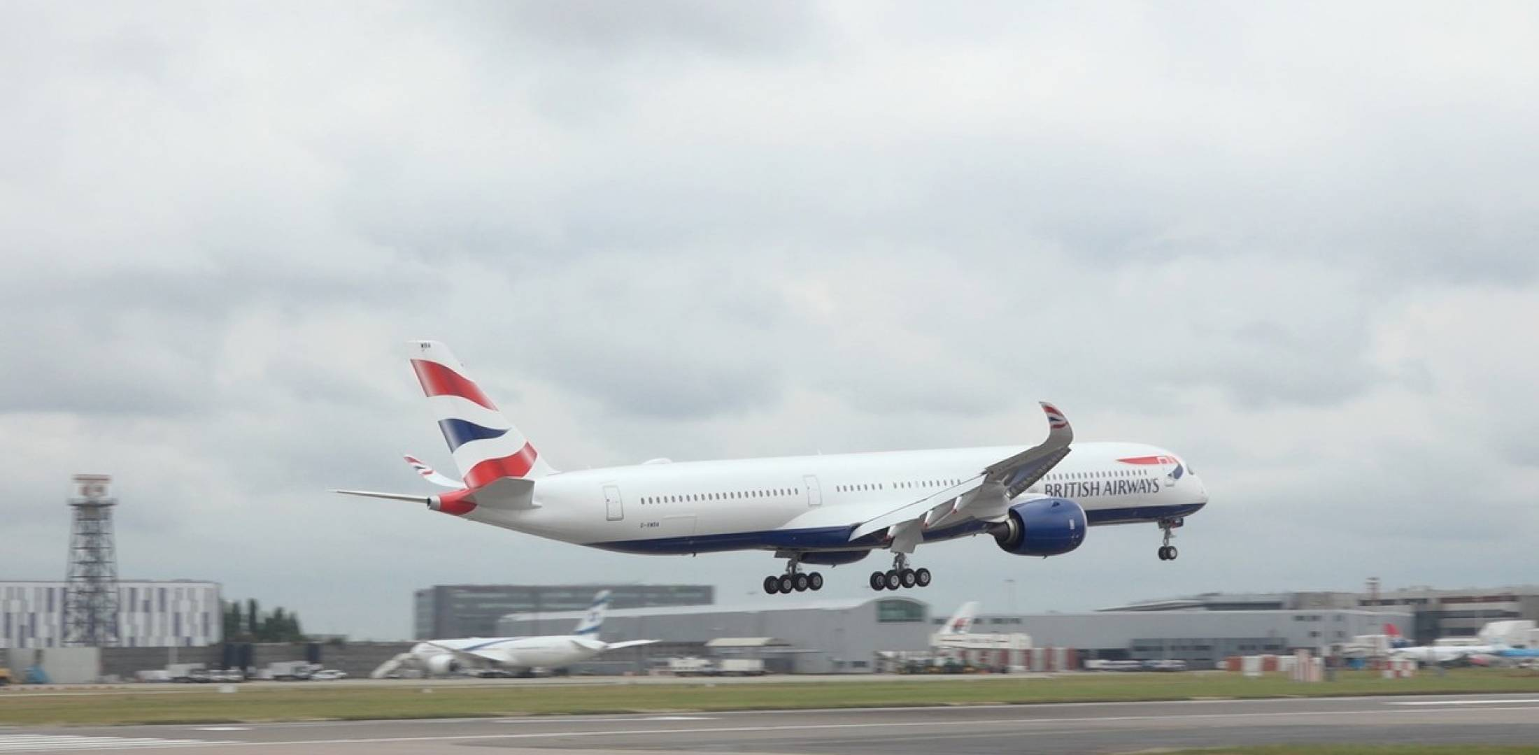 British Airways A350 at London Heathrow Airport