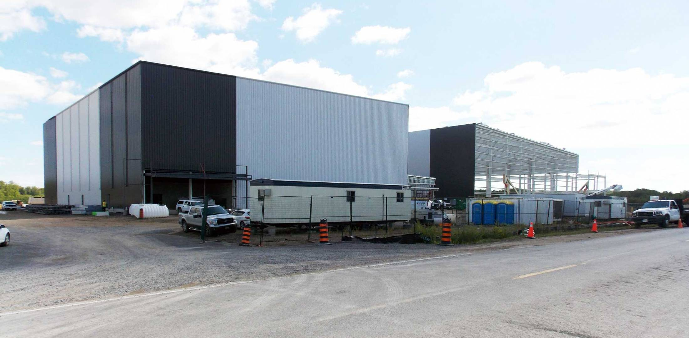 Flying Colours 100,000 sq ft hangar expansion