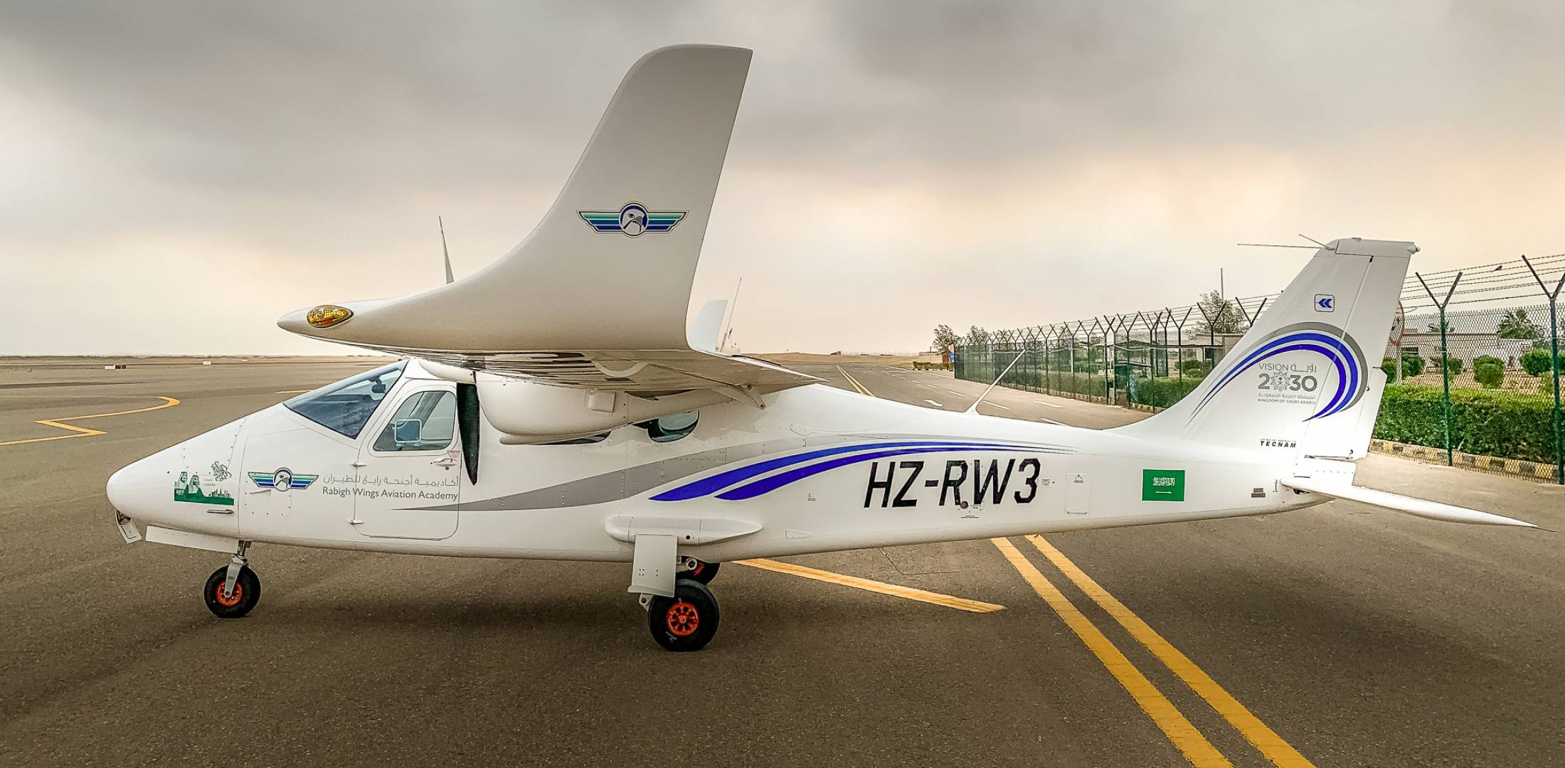 Tecnam P2006T cadet training aircraft