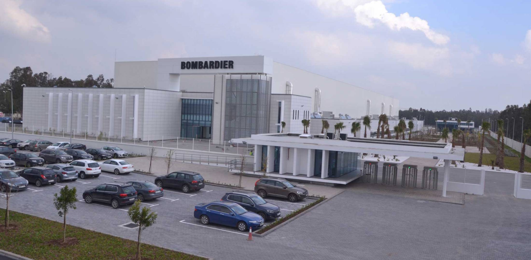 Bombardier's Casablanca manufacturing facility