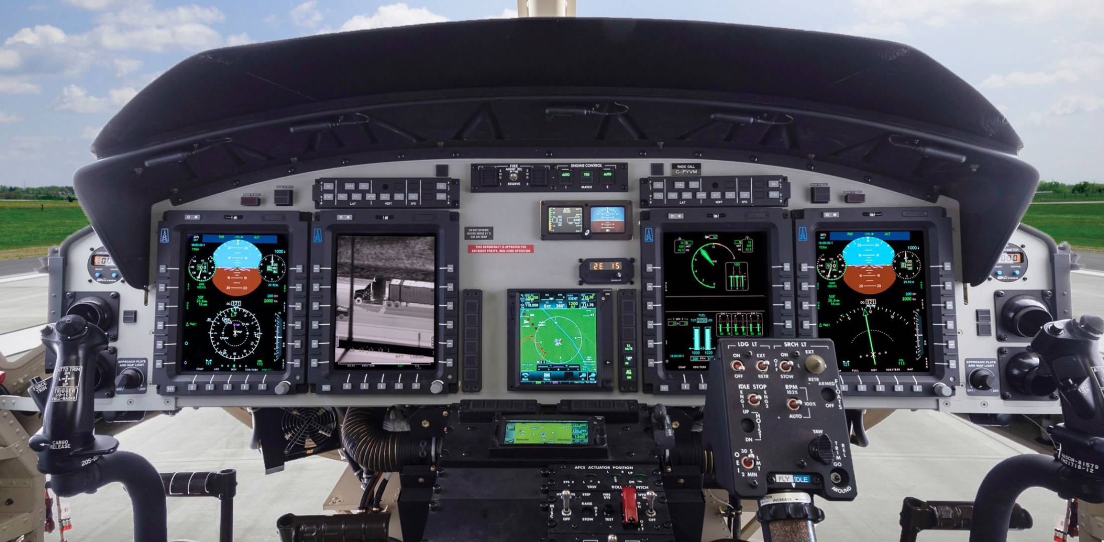 Astronautics is providing its Badger Pro+ integrated flight display system to Bell
