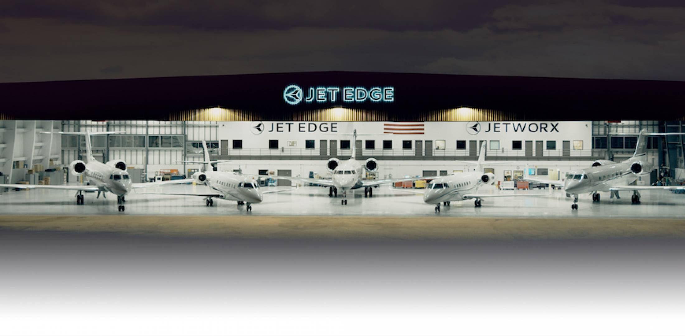 Jet Edge hangar (Photo: Jet Edge)