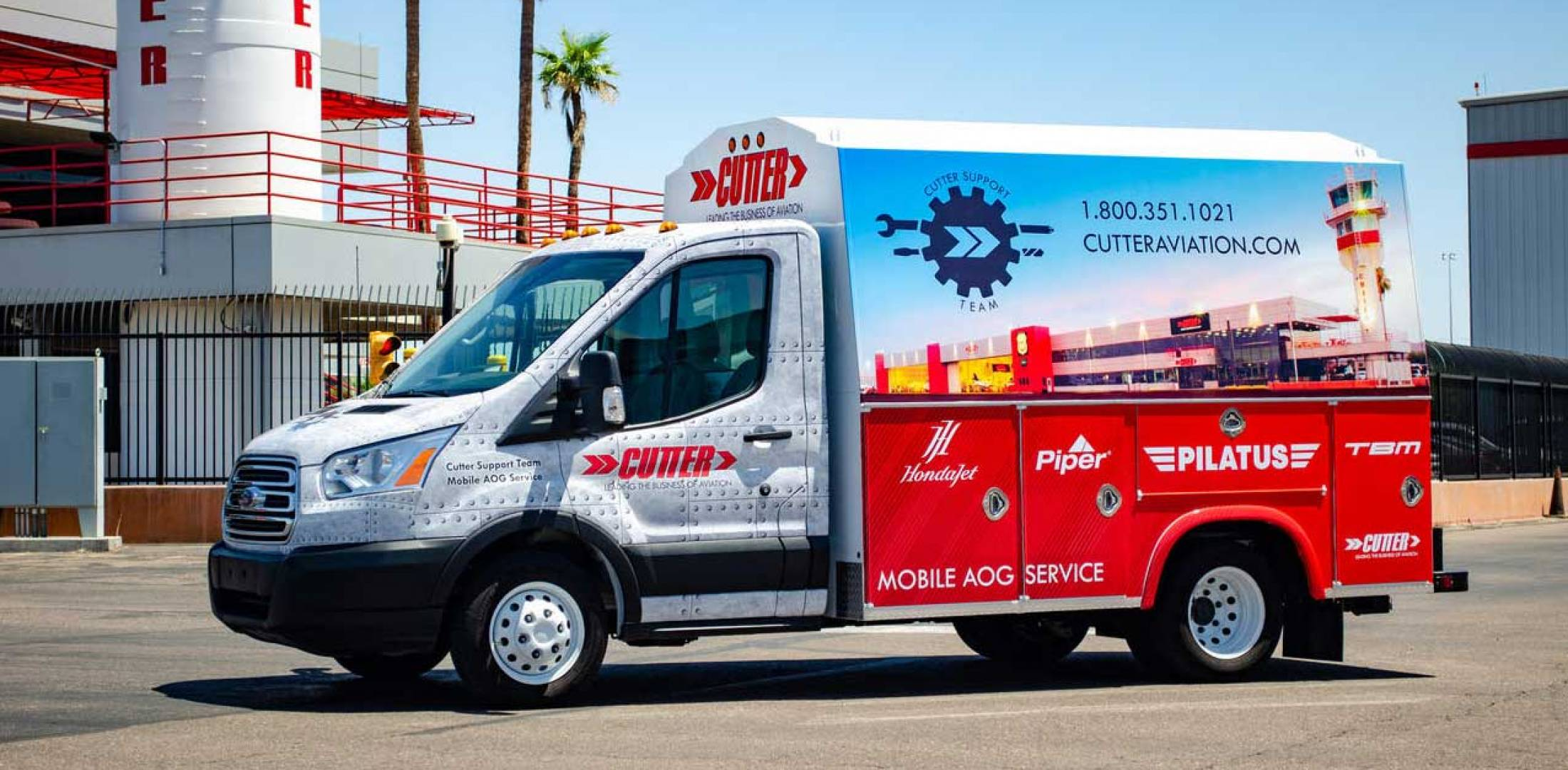 Cutter's new mobile AOG unit