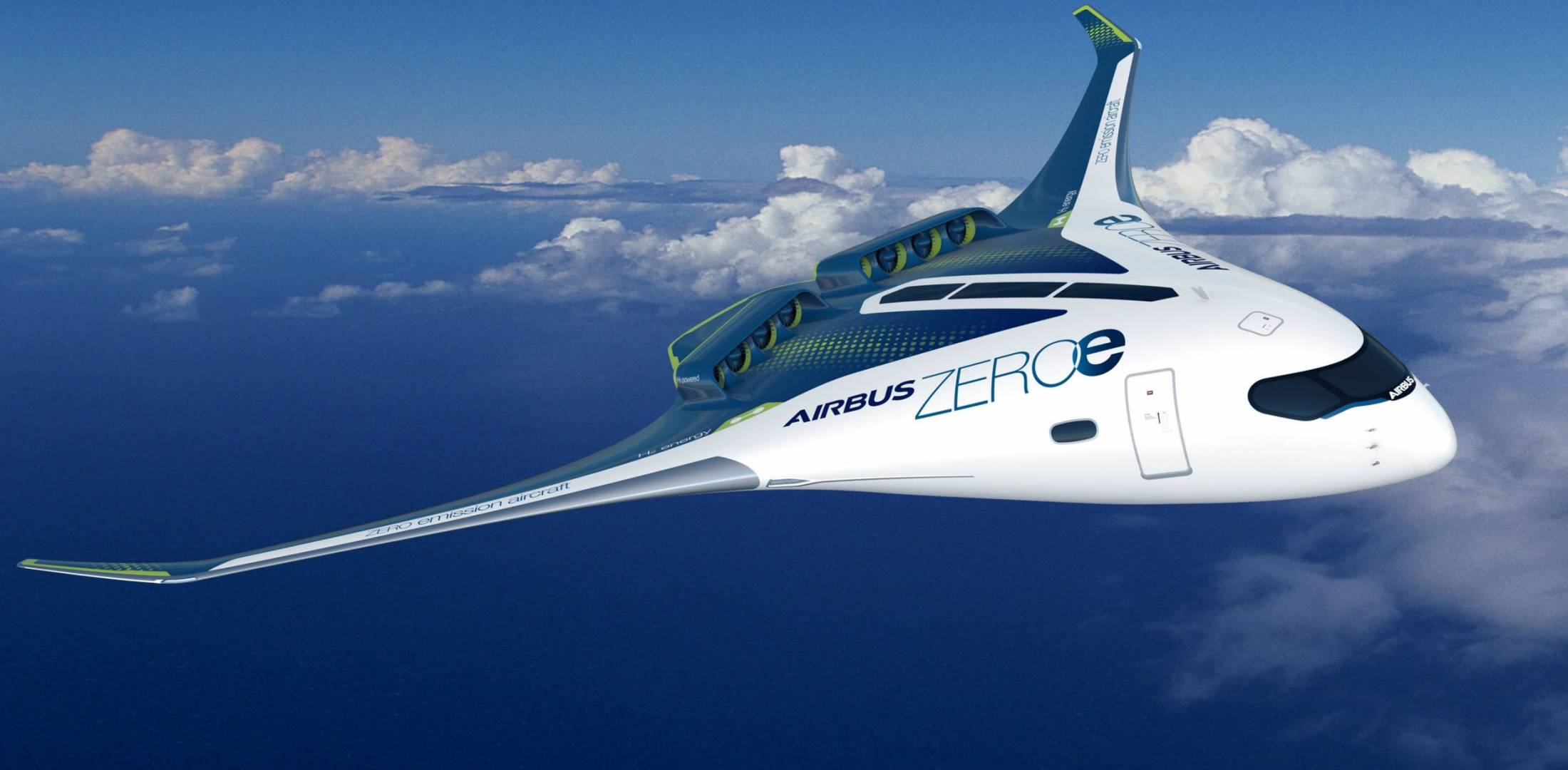 Airbus ZeroE blended wing concept