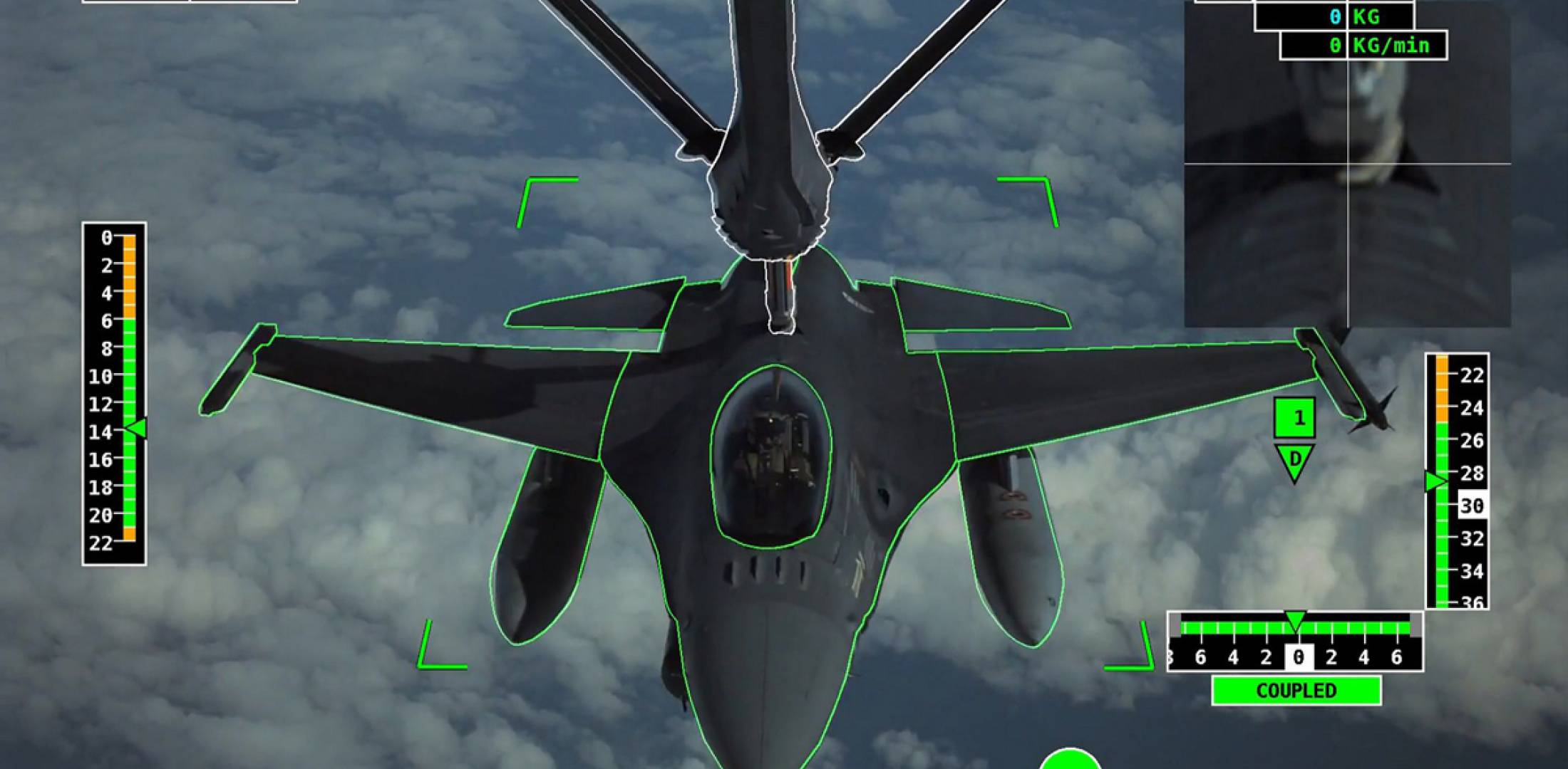 Automatic air-to-air refueling