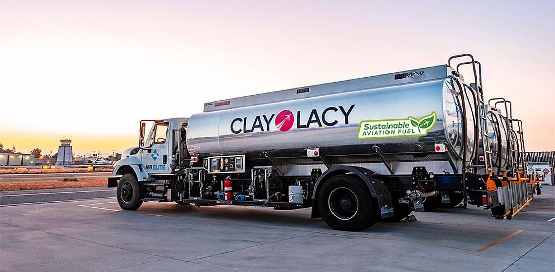 Clay Lacy SAF tanker