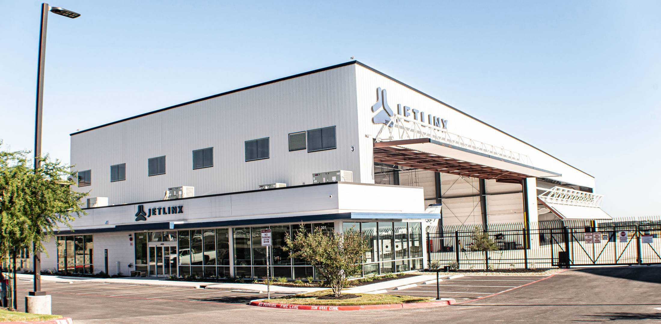 Jet Linx' new private terminal at SAT