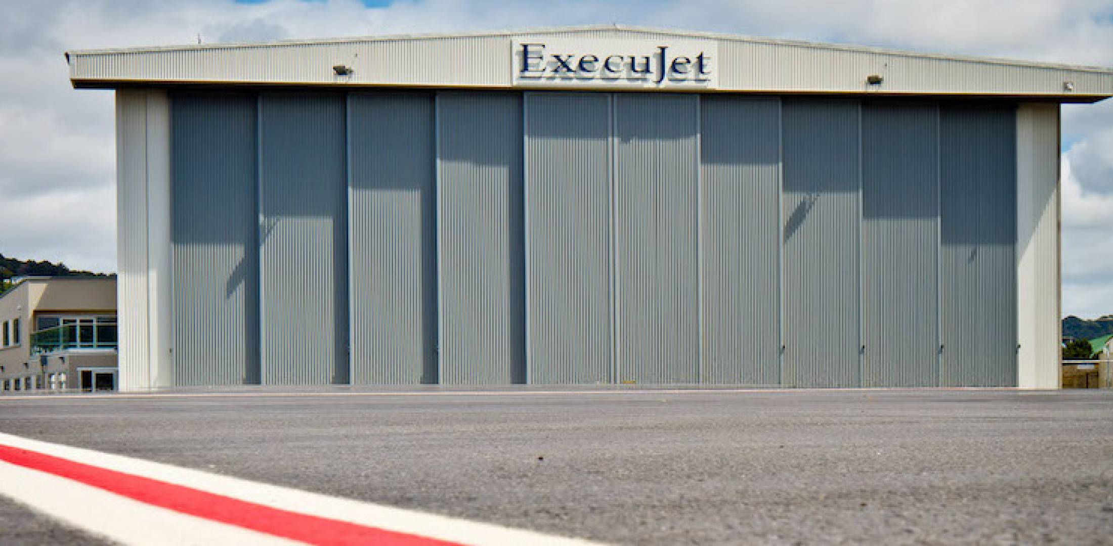 ExecuJet MRO Services' facility at Wellington Airport