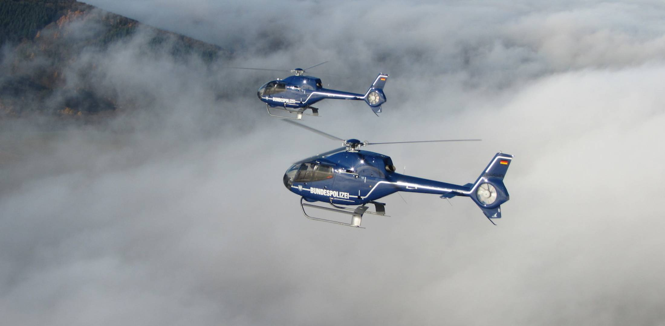 German federal police (Bundespolizei), Airbus H120 training helicopters