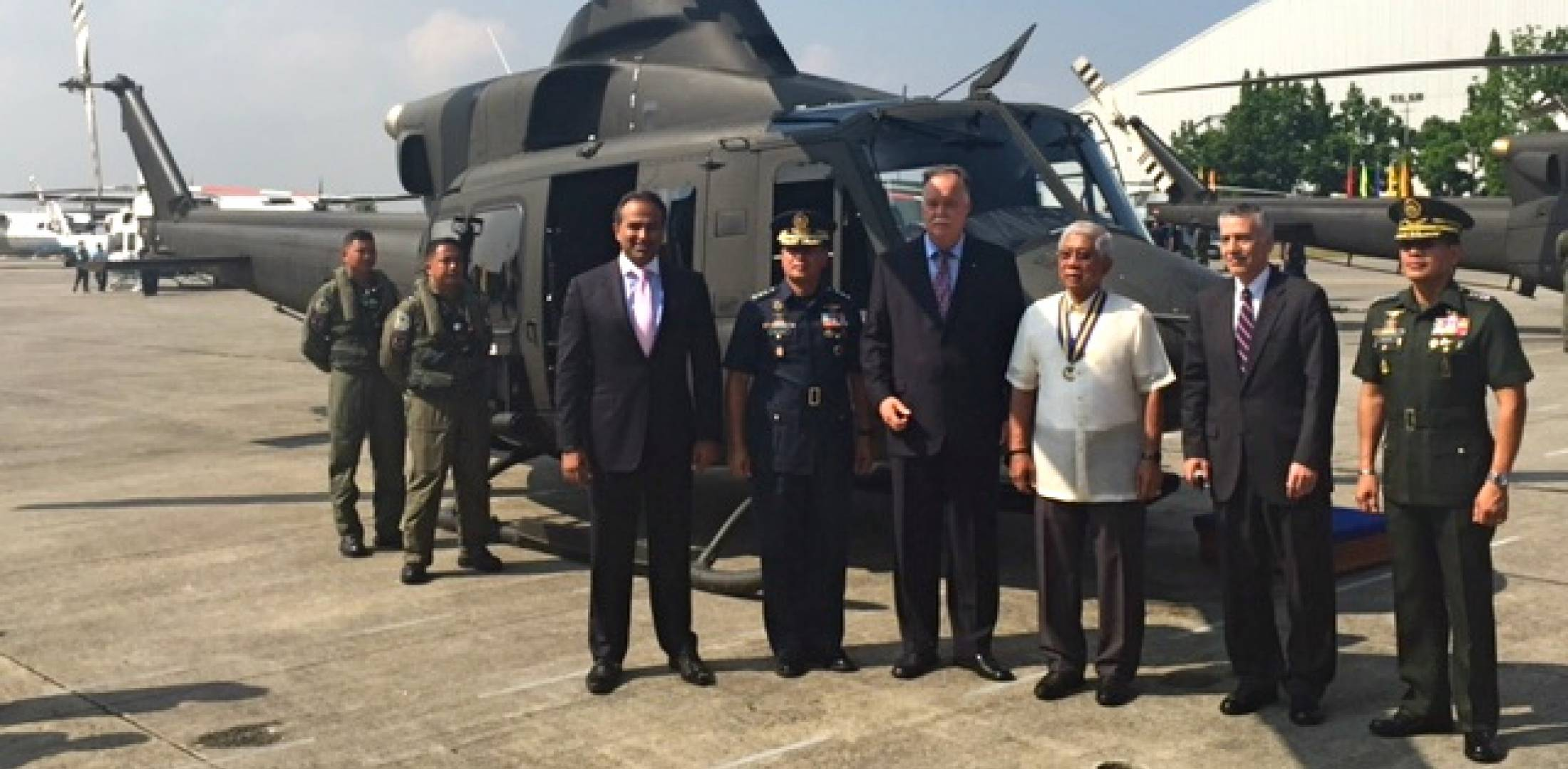 Final Bell 412EP delivered to Philippines