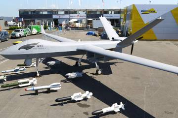 Wing Loong II medium-altitude long-endurance (MALE) unmanned aerial vehicle (UAV)