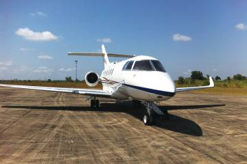 Hangar8 has seen spectacular growth in Africa, mainly associated with oil, gas and mineral industries. The Hawker fleet is particularly busy in this region.