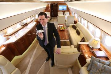 Airbus Corporate Jets vice president Francois Chazelle