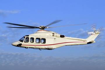Lease Corporation International is leasing a new AW139.