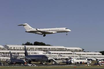 Farnborough International organizers are promising full static and flying displays for the 2012 show.