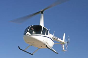Robinson Helicopter's newest, the turbine-single R66, was recently certified in Canada and Russia.