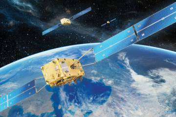 The first two satellites for the Galileo system will be launched next month from Kourou, French Guiana.