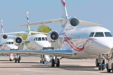 Chinese customers are not only demanding higher-end aircraft such as the flagship 7X, but also now choosing models such as the entry-level 2000S if the mission warrants it.