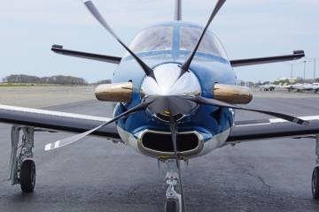 TBM operators can go higher, faster and farther with retrofit composite Hartzell props. Photo: Matt Thurber