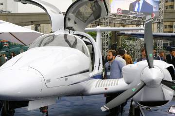 Diamond's DA62 twin has already shown success in local markets, and special-missions sales are anticipated.