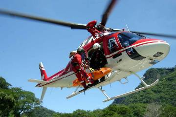 The parapublic market is looking up for Leonardo in the region. The State of Rio Grande do Sul operates this AW119Kx, the first to use that model for the role.