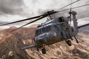Sikorsky HH-60W combat search-and-rescue helicopter
